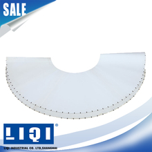 Customized white PVC flat conveyor belt Food grade conveyor belt