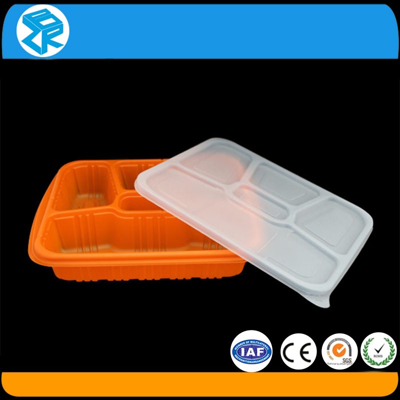 Plastic container frozen food packaging box