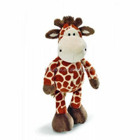 Small eyes cute giraffe plush toy