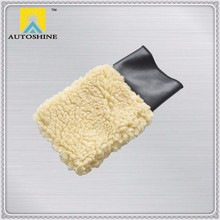 Factory Directly Free Samples lambs Wool Wash Mitt