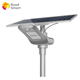 New 2018 MPPT Charge Controller 180lm/w Road Smart Solar LED Street Light 5 Years Warranty