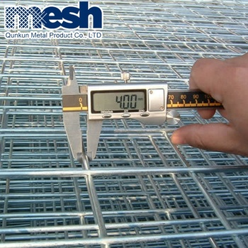 Best price 2x2 galvanized welded wire mesh panel with low price