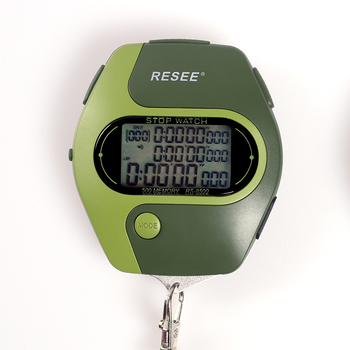 Resee factory support switch machine stop watch at any time wholesale sports handheld digital stopwatch
