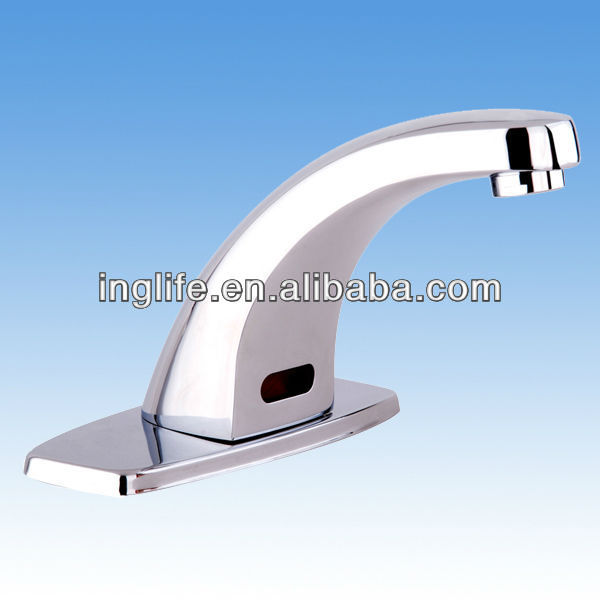 Hot Sale! <strong>W</strong>/ Mini-Control Box Cheap Hospital Commercial Automatic Faucet ING-9103(DC)