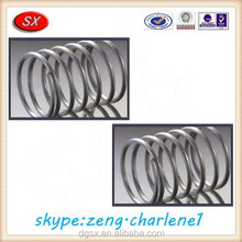 Steel/Nylon large diameter recoil helical compression spring/drawing spring compression spring pass ISO9001