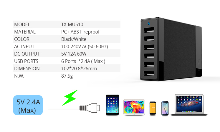 Portable charger spare parts for chinese mobile phones and usb travel charger or uk standard multi-ports wall charger