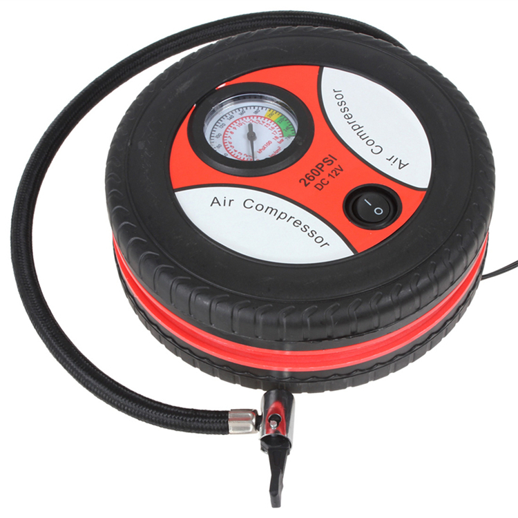 Mini Portable High Quality Tire Air Inflator Car Air Compressor Electric Car Auto Air Pump Car Inflator
