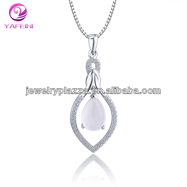 Fashion simulation agate jewelrry necklace pendant