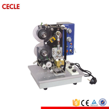 Electric ribbon date batch NO. coding machine printing machine