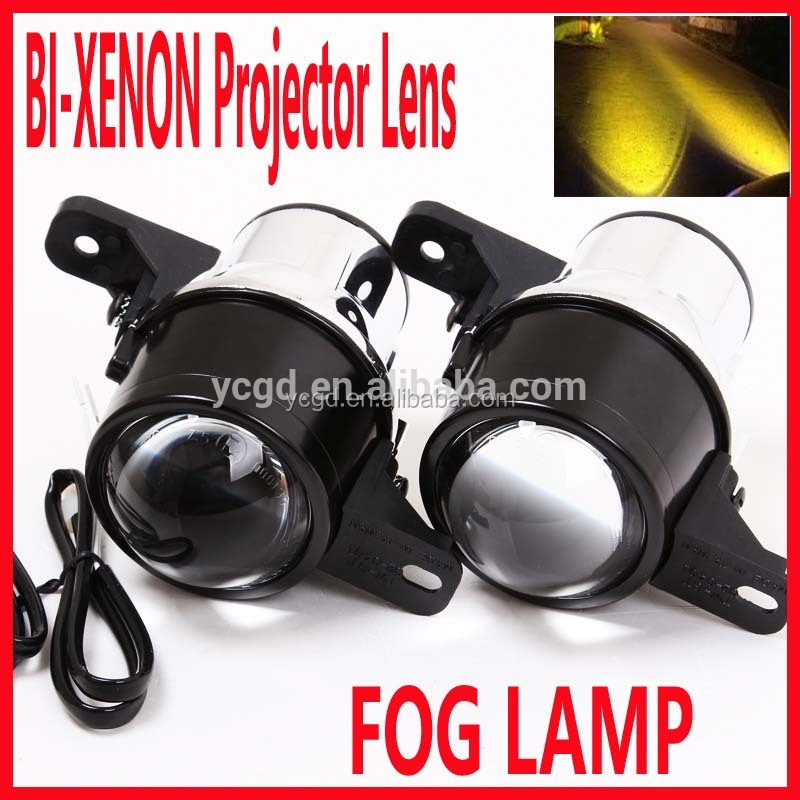 Car HID Xenon Lamp Projector 12V 24V Fog Light Projector Lens Auto LED Fog Lights