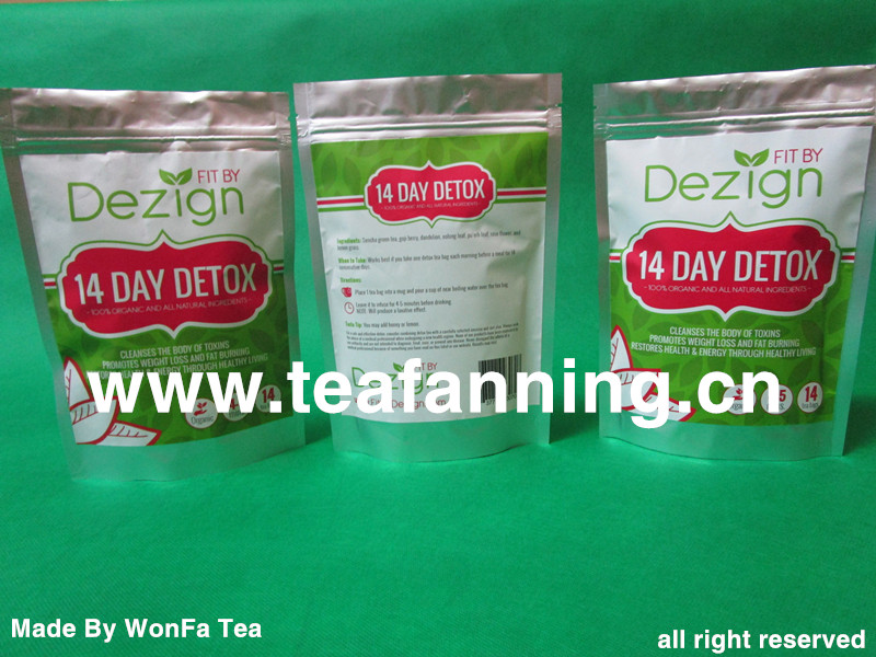 Night time Cleansed teas (custom service)