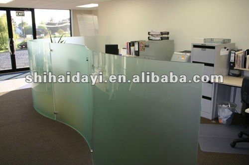 frosted glass panels