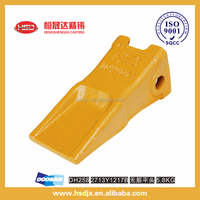 Excavator Spare Parts Doosan Bucket Teeth Mini Bucket Tooth for Earth Moving2713Y1217B