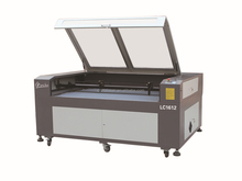 laser engraving machinery price/ LC1612 dual head laser cutting machine
