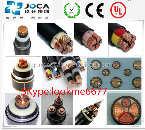 0.6/1KV XLPE/PVC LSOH Cu Copper 400mm Power Cable 400mm2 xlpe power cable