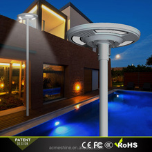 Round UFO Shaped Led Light Source Solar Plaza Light Made in China