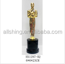 Wholesale Resin Oscar Trophy Awards best selling oscar awards trophy