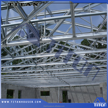 Light Gauge Steel Prefabricated Framing for Flat Roof Truss