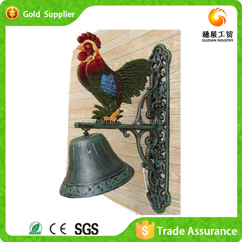 Wholesale Decorative Hanging Metal Cast Iron Bells For Sale