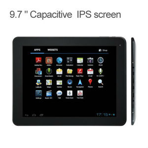 Hot selling high-end 9.7 inch android tablet pc 3g tf card with hifi sound
