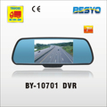 Car 7 inch rear view mirror with DVR recorder BY-C10701 DVR