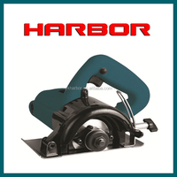 HB-MC001 YongKang HARBOR 110mm 1200w marble cutter used stone cutting machine china quarry stone block cutting machine