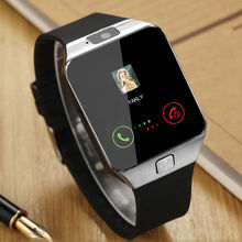 hot selling dz09 smart watch with camera for Android like q18 With Camera SIM Card smartwatch