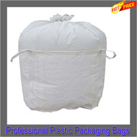 best price recycled pp woven flexible container bag, big flour bulk packaging bag