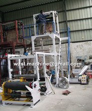 Plastic film blowing machine price/blown film extrusion machine/film machine