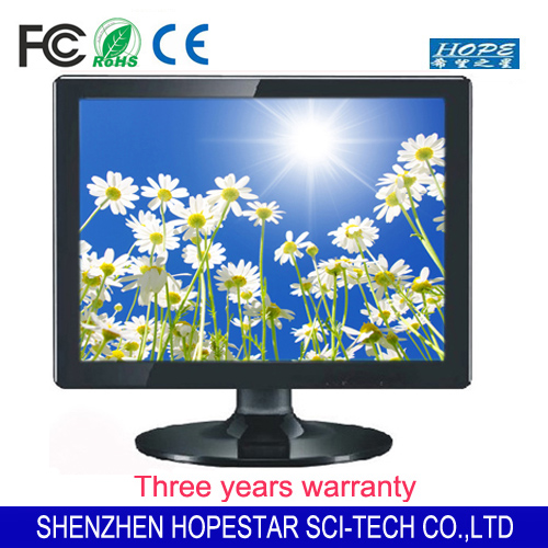 Square 1280*1024 17 inch lcd computer industrial panel pc monitor