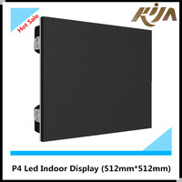 High brightness newest xxx p4 indoor led video wall on sale
