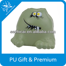 Bacteria germ shape pu foam anti stress ball educational toys promotion gifts logo customized