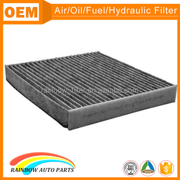 87139-02130 pure activated carbon cabin air filter for toyota corolla