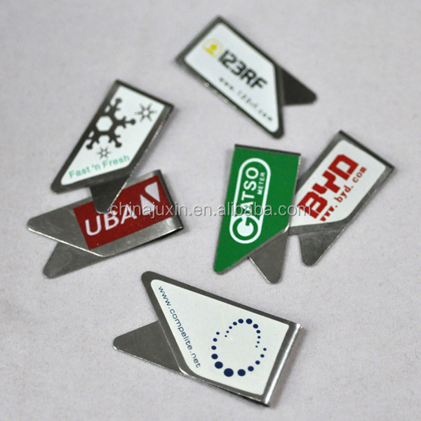 custom paper clip with logo