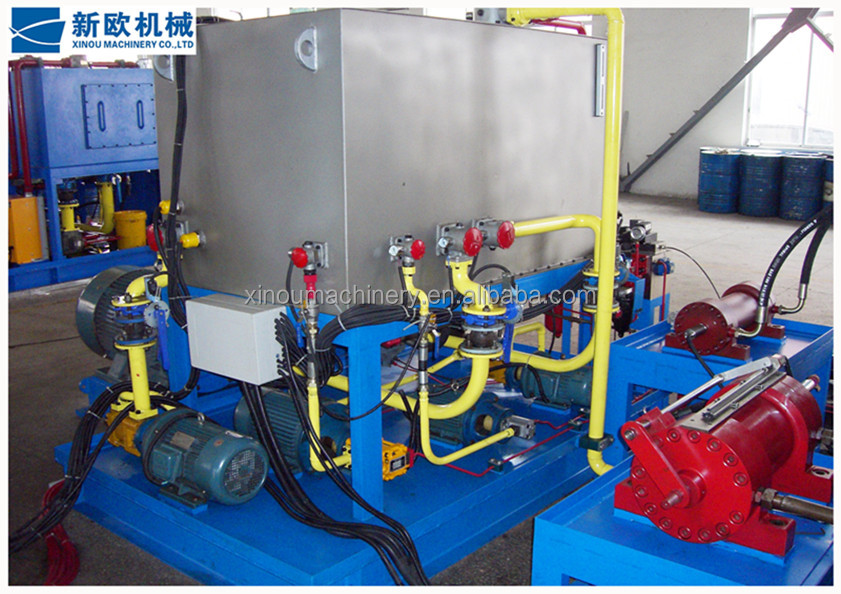 Hot sale electric hydraulic servo Valve Test Bench high quality