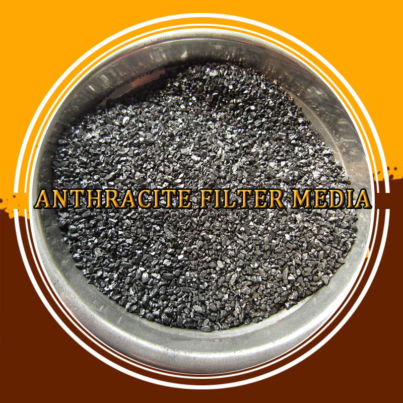 Water Treatment Filter Media 80% Carbon Anthracite Coal for Sale