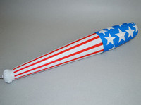 hot selling star print Baseball Bat shape cheer spirit stick hand clap noise maker