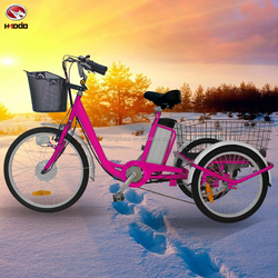 3 wheel bike electric tricycle for cargo