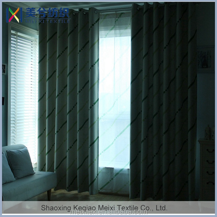 Wholesale very cheap printed curtain at wholesale price