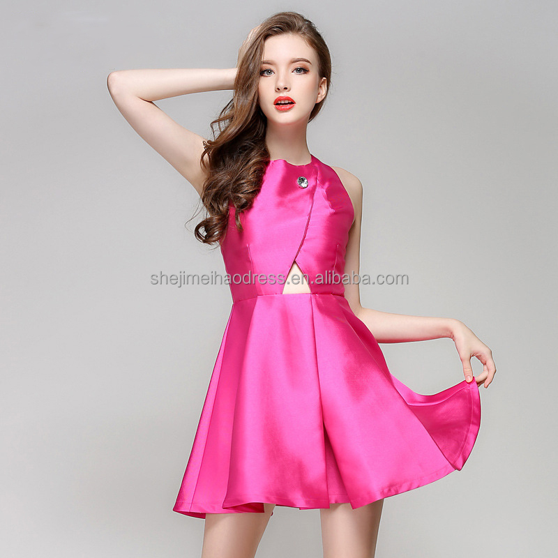 Guangzhou manufacturer new ladies fashion dresses with pictures