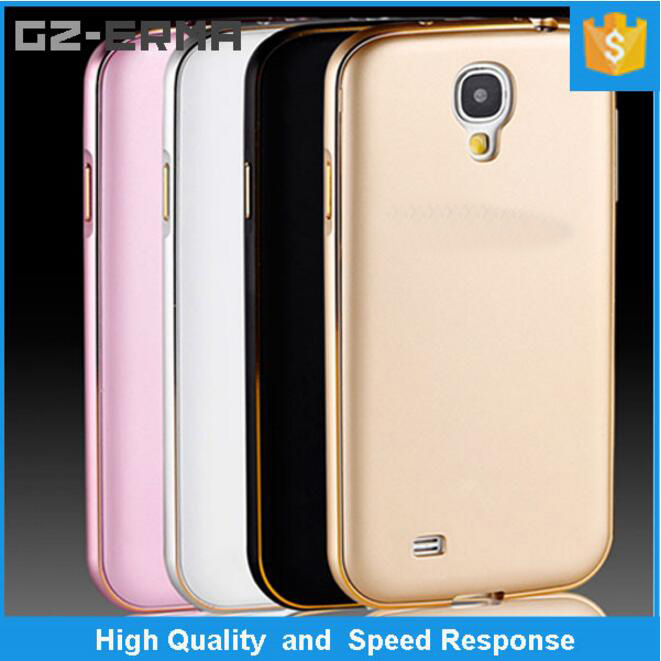 2 in 1 Detachable Ultra Slim 7 MM Curved Bumper + PC Plastic Back case for Samsung Galaxy S4