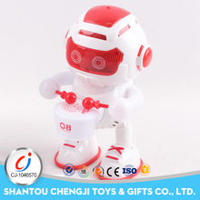 Hot selling product battery operated plastic dancing robot
