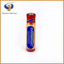 Long running time 1.5v battery aaa r03p non rechargeable