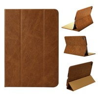 Top Quality Tablet Protector for Ipad Genuine Leather Case Italian Full Grain Cowhide For Ipad Mini4