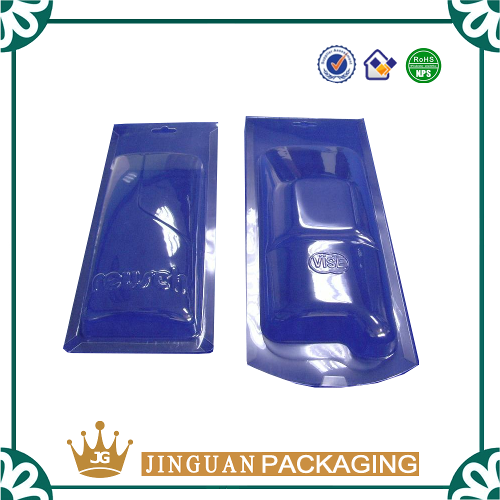 Custom Mobile power blister pack plastic packaging for power bank