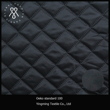 240T pongee embroidered quilted cotton fabric use in coats
