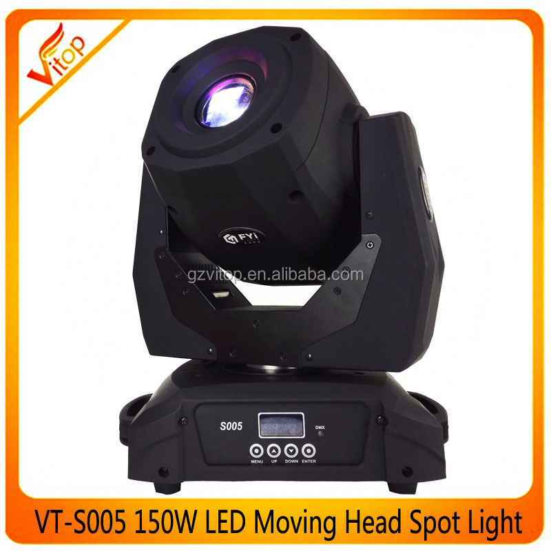 spot moving head 150w LED 150w dmx stage light