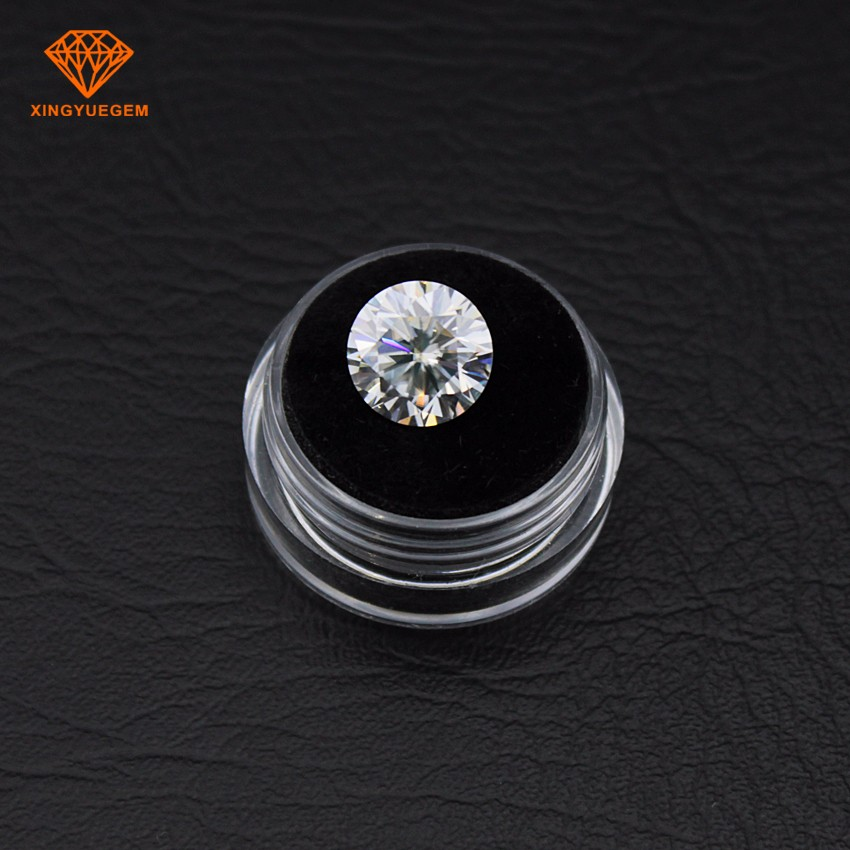 Wholesale Price 1 carat 6.5mm moissanite diamond synthetic moissanite