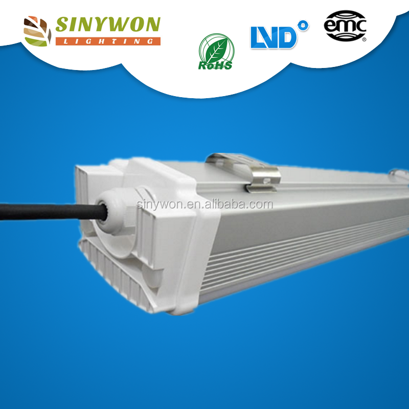 For US EU Market 5 Yrs Warranty IP65 Led TRI-Proof Light Fixture