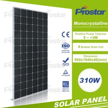 Normal specification mono 310 w pv module solar panel FOB shanghai